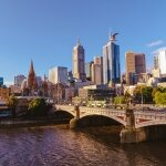 melb cbd skyline day